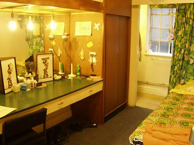A Typical Dressing Room