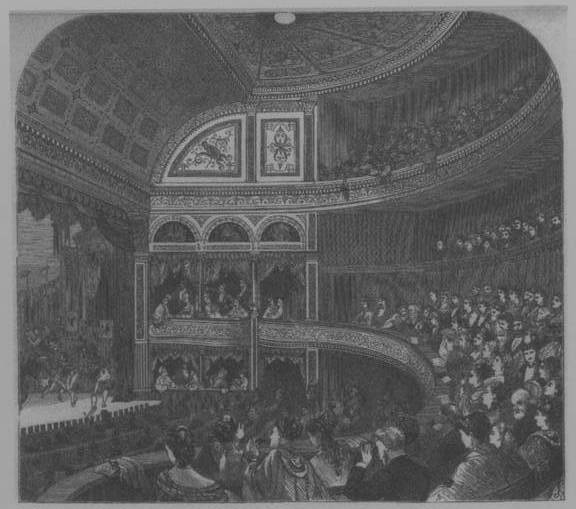 Theatre Auditorium c.1870